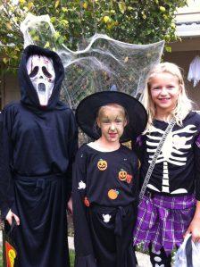 kinderen halloween